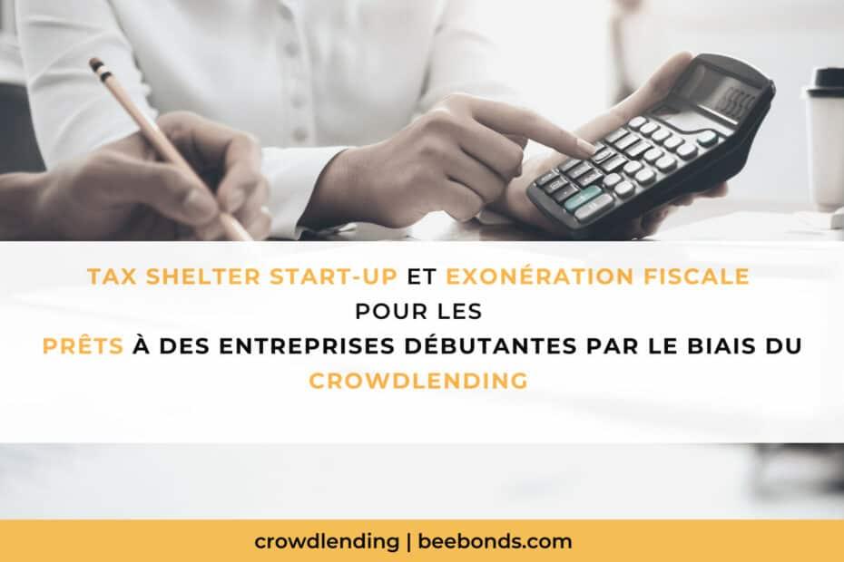 Tax shelter startup crowdlending