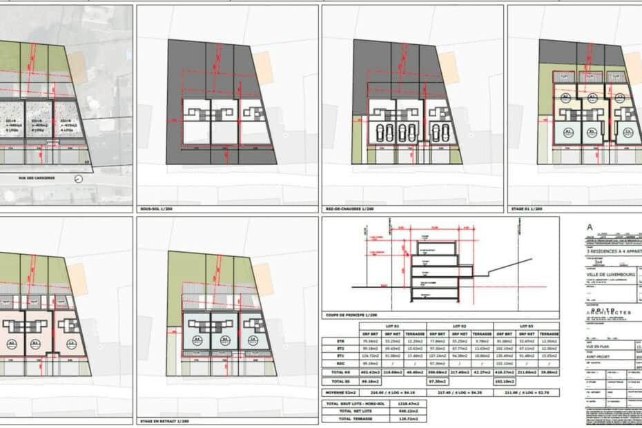 Carrières 10 plans