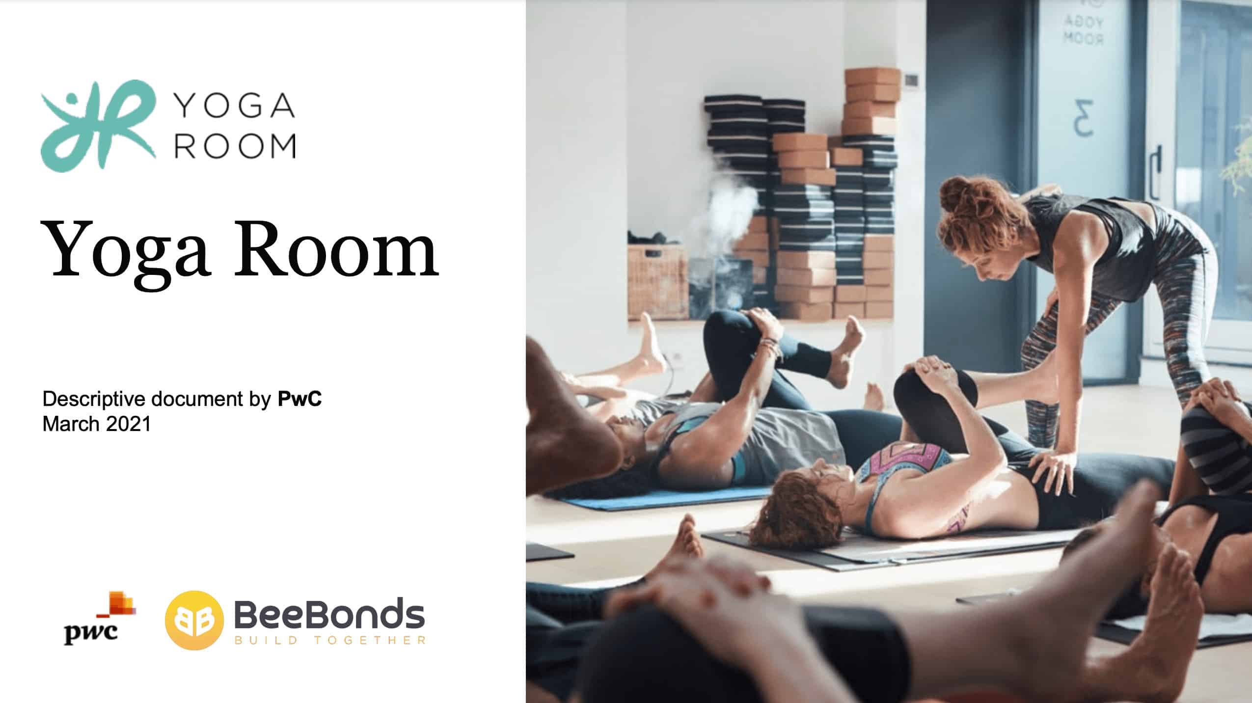 Yoga Room - Couverte note descriptive BeeBonds